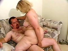 Sex addicted fatty gets off in bed busty fats