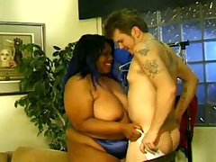 Yummy bbw having fat sex party