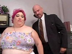 Wild stud pounds hungry fat bitch busty fats